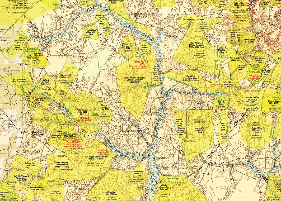 McDaniel map